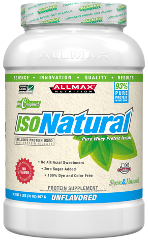 Allmax Nutrition  IsoNatural Pure Whey Protein Isolate (2 lbs) *Best By Date 06/30/2018*