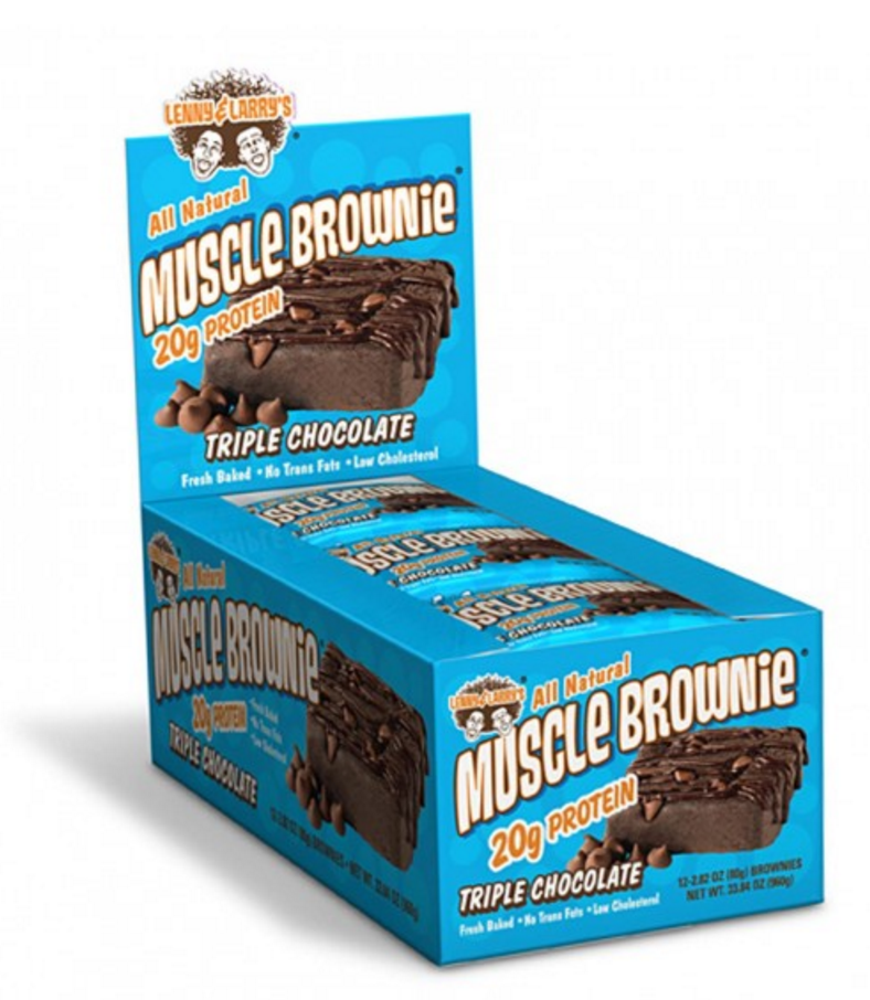 Lenny & Larry's  Lenny & Larrys Muscle Brownie (Box of 12)
