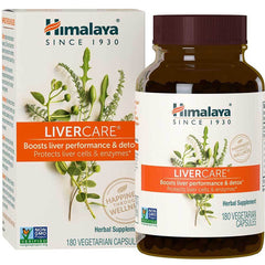 Himalaya Herbal Healthcare LiverCare (180 caps)