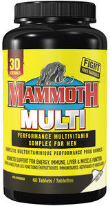 Mammoth Supplements  Mammoth Multi Vitamin (30 Serving)