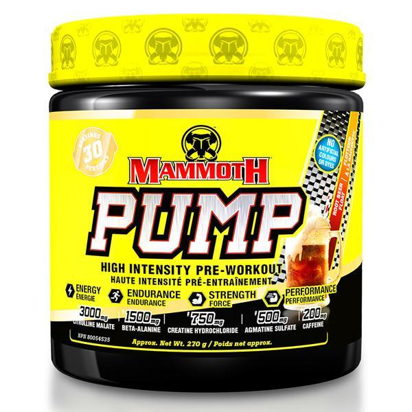 Mammoth Supplements  Mammoth Pump (30 servings)