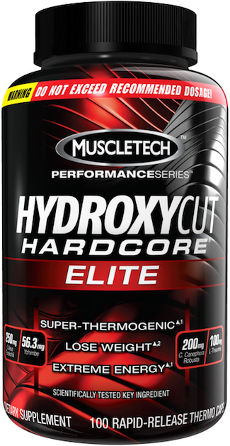 MuscleTech Fat Loss Products HydroxyCut Hardcore Elite (110 caps)