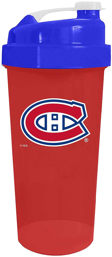 NHL Official NHL Official NHL Official Deluxe Shaker Bottle - Montreal Canadiens 700ml