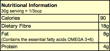 Ingredients for NutraCleanse (2.2 lbs)