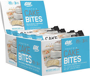 ON - Optimum Nutrition Best By Date Cake Bites (12 Packs) **EXP: 05/19**