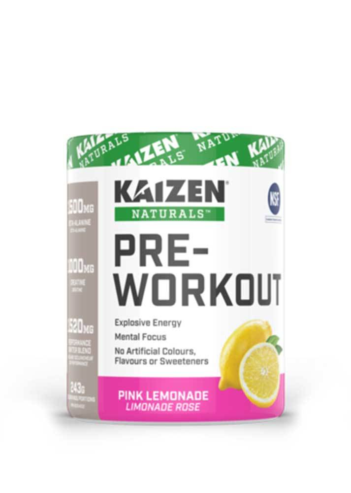 Kaizen Naturals Pre workout Pills NATURAL PRE-WORKOUT (231G)