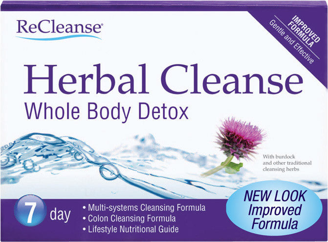ReCleanse Detox and Cleansing Herbal Cleanse (7 days)