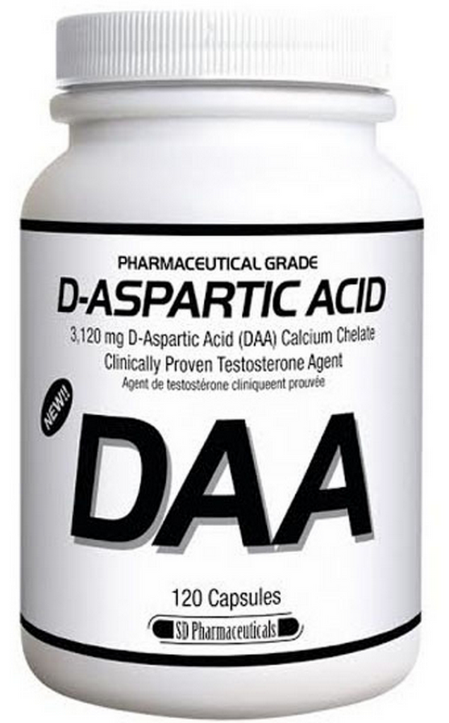 SD Pharmaceuticals  D-Aspartic Acid DAA (120 caps)