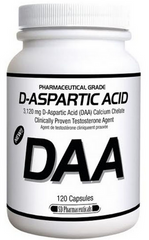 D-Aspartic Acid DAA (120 caps)