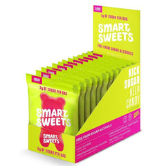 SmartSweets Sour Gummy Bears Box of 12