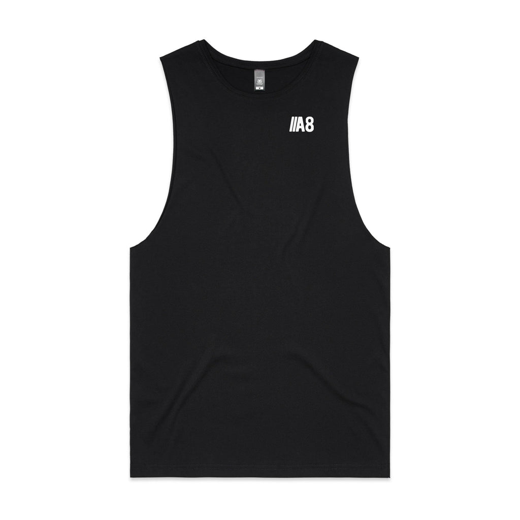 Active8 Canada  A8 MINIMALIST TANK TOP – BLACK