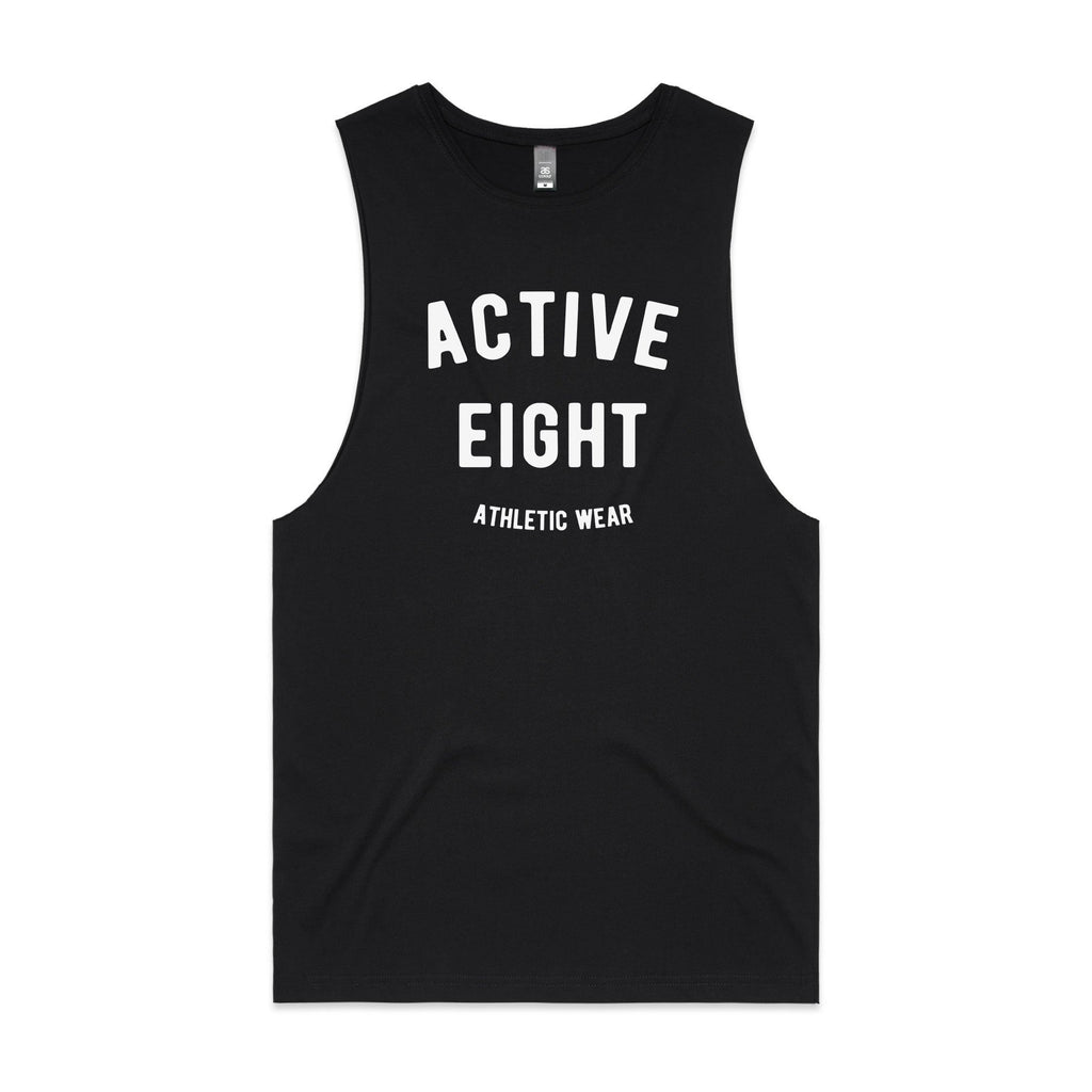 Active8 Canada Clothing A8 CLASSIC TANK TOP – BLACK