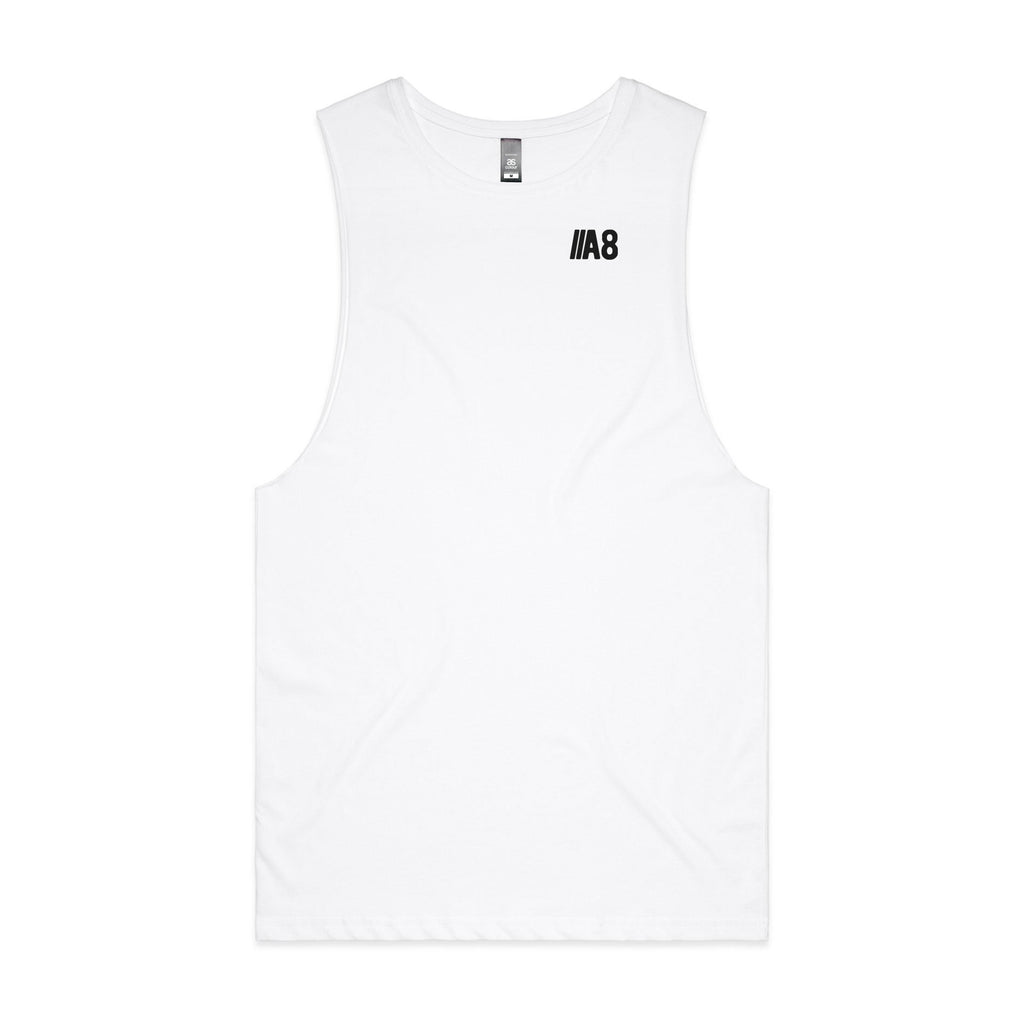 Active8 Canada  A8 MINIMALIST TANK TOP – WHITE