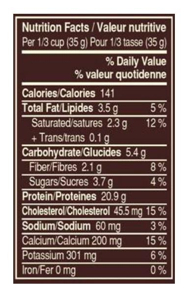 Ingredients for HiProtein Whey Protein - Chocolate Caramel Peanut (875 g)