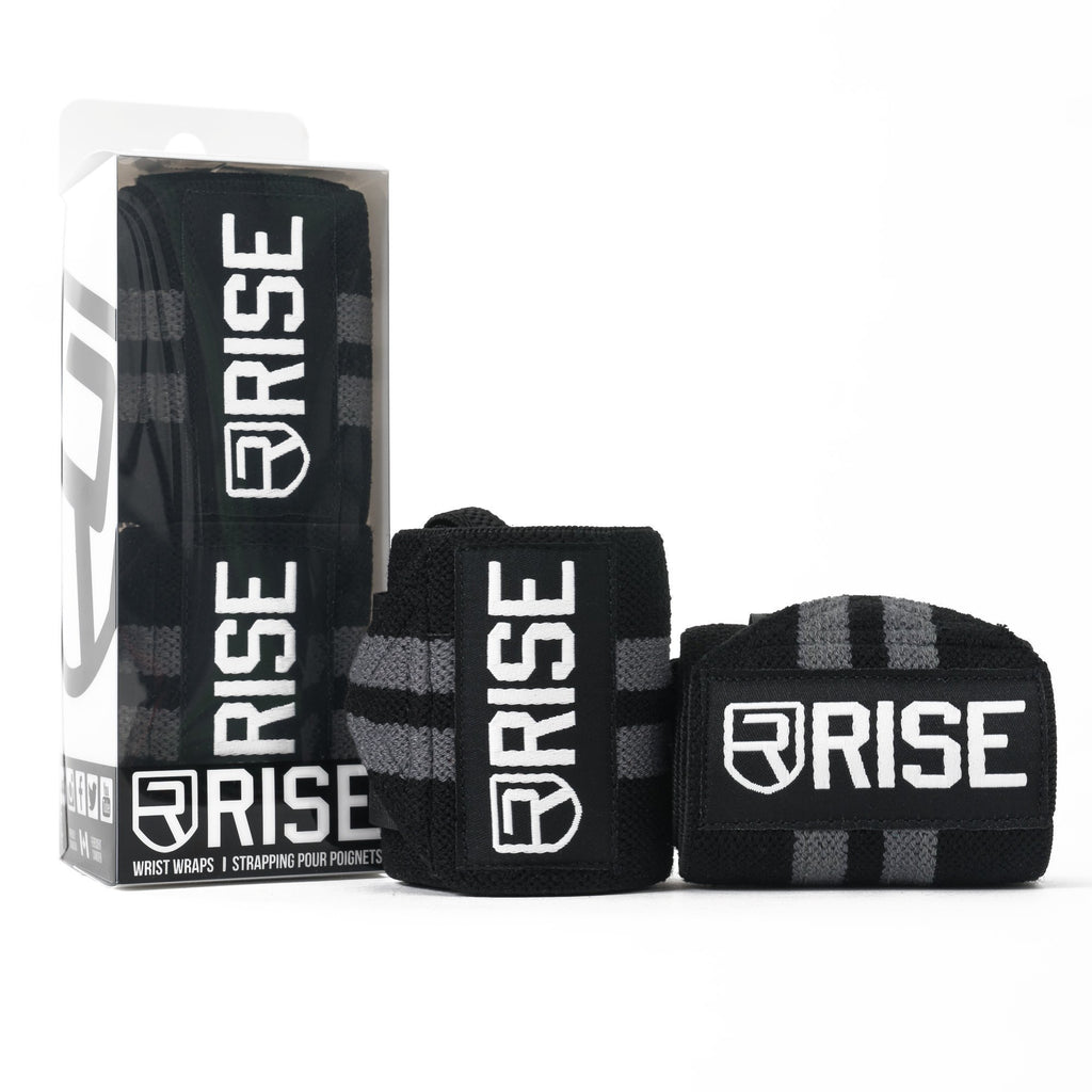 rise Rise WRIST WRAPS – ONYX (LIMITED EDITION)
