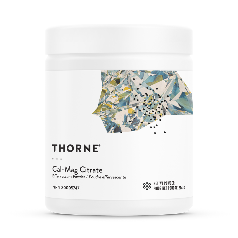 Thorne Research  Thorne Research Cal-Mag Citrate Effervescent Powder (214g)