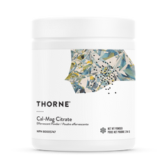 Thorne Research Cal-Mag Citrate Effervescent Powder (214g)