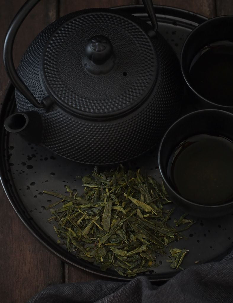 billy goat brew loose leaf tea chinese sencha