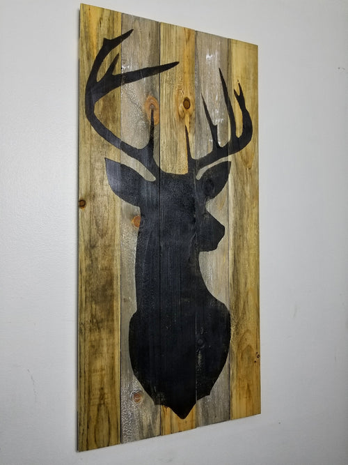 ONE Available | Deer Head on Wood
