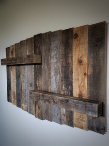 Recycled Barnwood Shelf