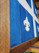 Load image into Gallery viewer, Quebec Barnwood Flag