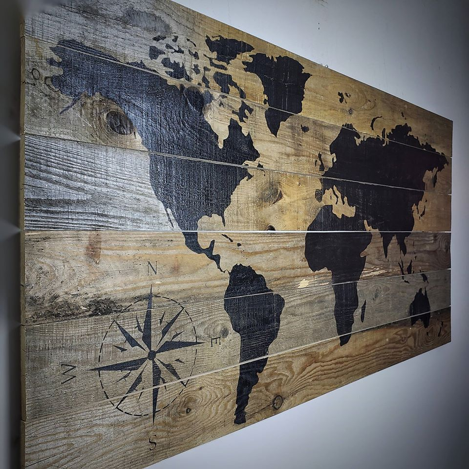 Real Barnwood | World Map