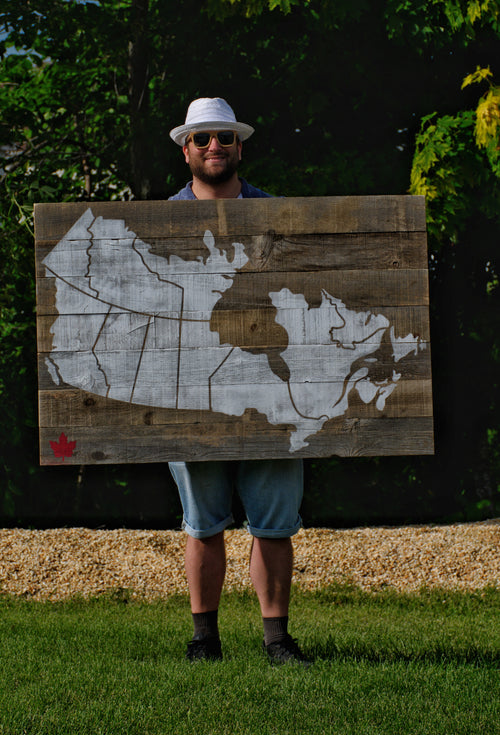 Barnwood | Map of Canada