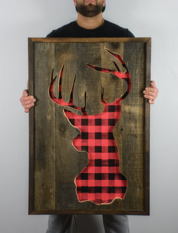 Deer Head | Rustic