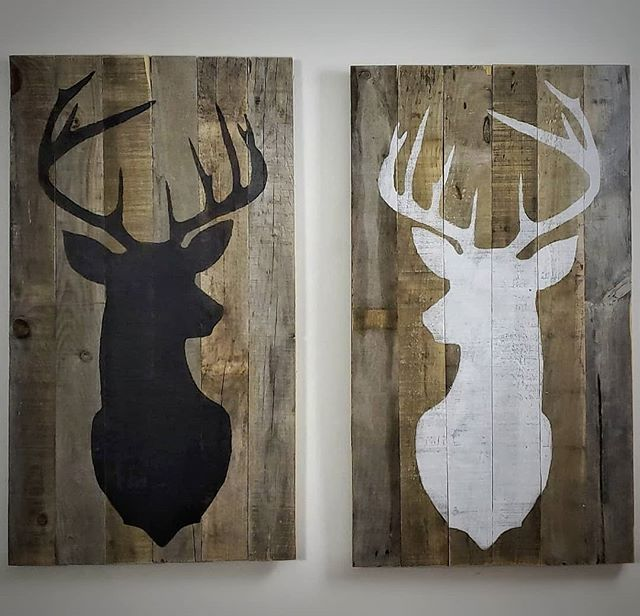 Deer Head | Barnwood