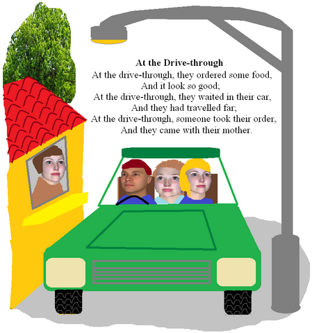 Nursery Rhyme - At the Drive-Through