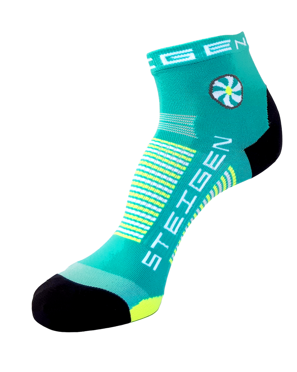 STEIGEN Premium Running Socks - 1/4 Length<br> Seaside