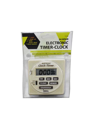 24 HOUR ELECTRONIC TIMER-CLOCK