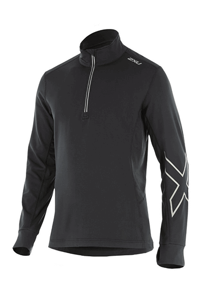 2XU X-VENT LONG SLEEVE TOP MENS <br> MR4258A,- Jim Kidd Sports
