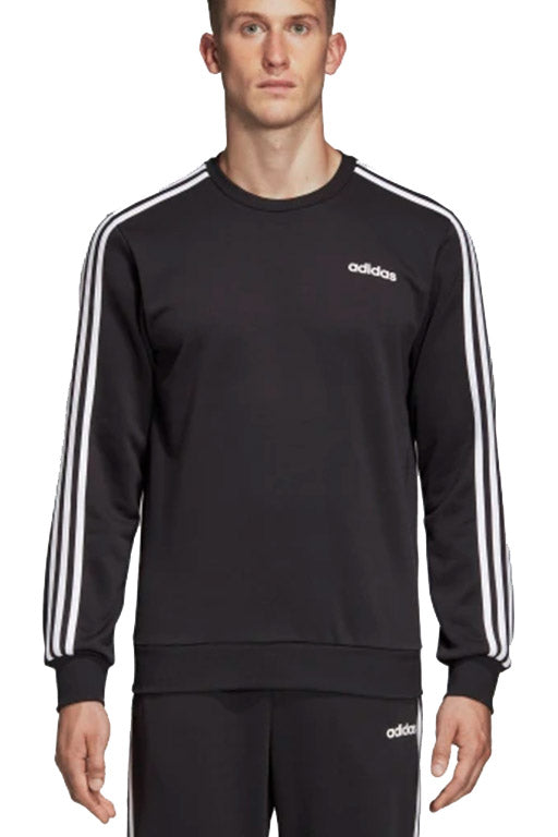 ADIDAS ESSENTIALS 3 STRIPES CREWNECK FRENCH TERRY MENS <br> DQ3083