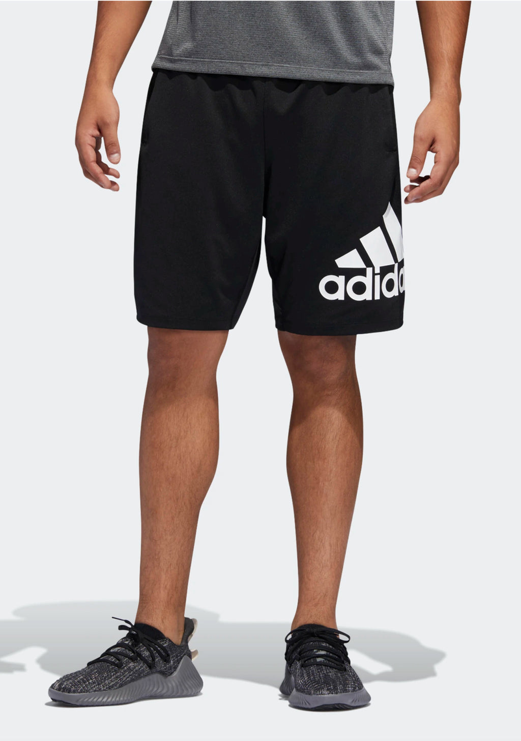ADIDAS MENS 4KRFT SPORT BADGE OF SPORT SHORTS <BR> DU1592