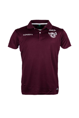 ISC MANLY WARRINGAH SEA EAGLES ADULT POLO MENS <br> 7MW4POL1A,- Jim Kidd Sports