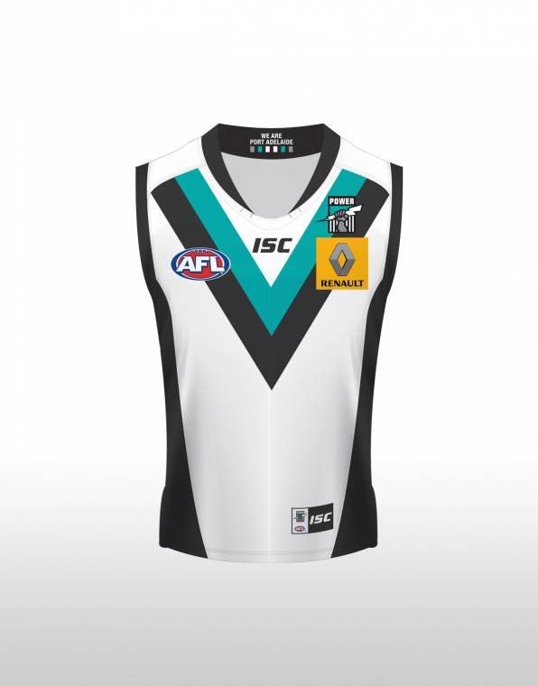 Isc Port Adelaide Power Clash Guernsey Junior 7pa5ajs1k