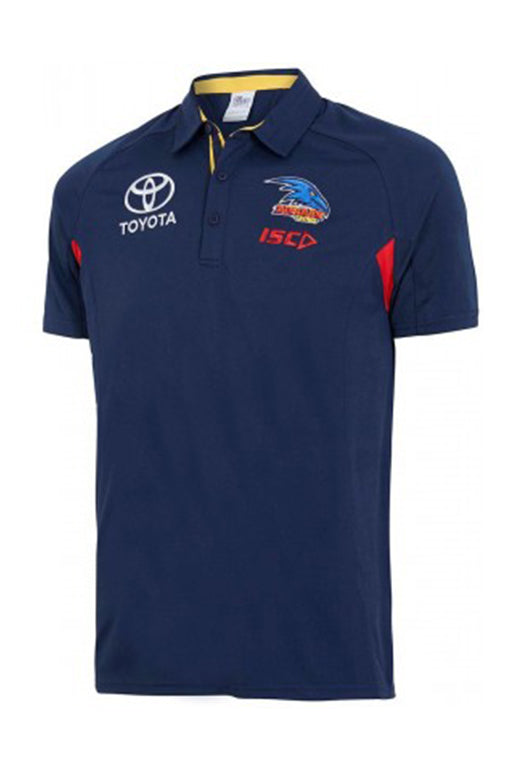 ISC ADELAIDE CROWS BAMBOO POLO MENS <br>AC18POL01M,- Jim Kidd Sports