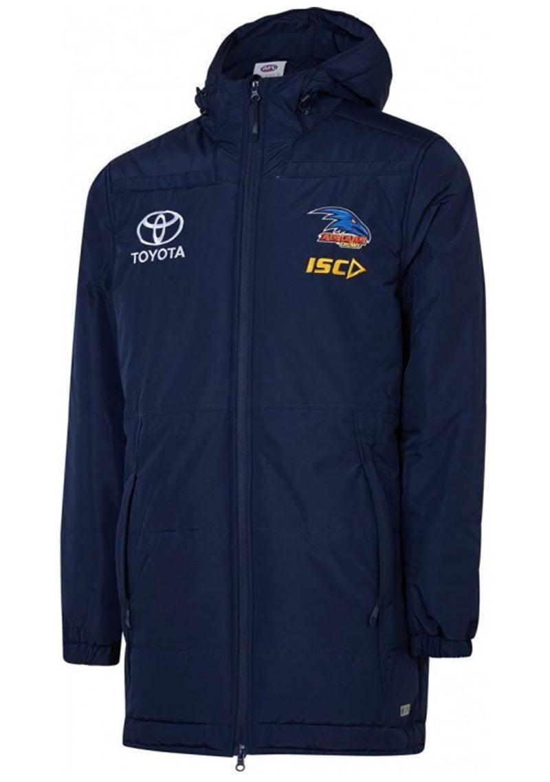 ISC MENS ADELAIDE CROWS 2019 COACHES JACKET <BR> AC19JKT03M