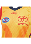ISC ADELAIDE CROWS 2020 MENS YELLOW TRAINING GUERNSEY <br> AC20JSY04M