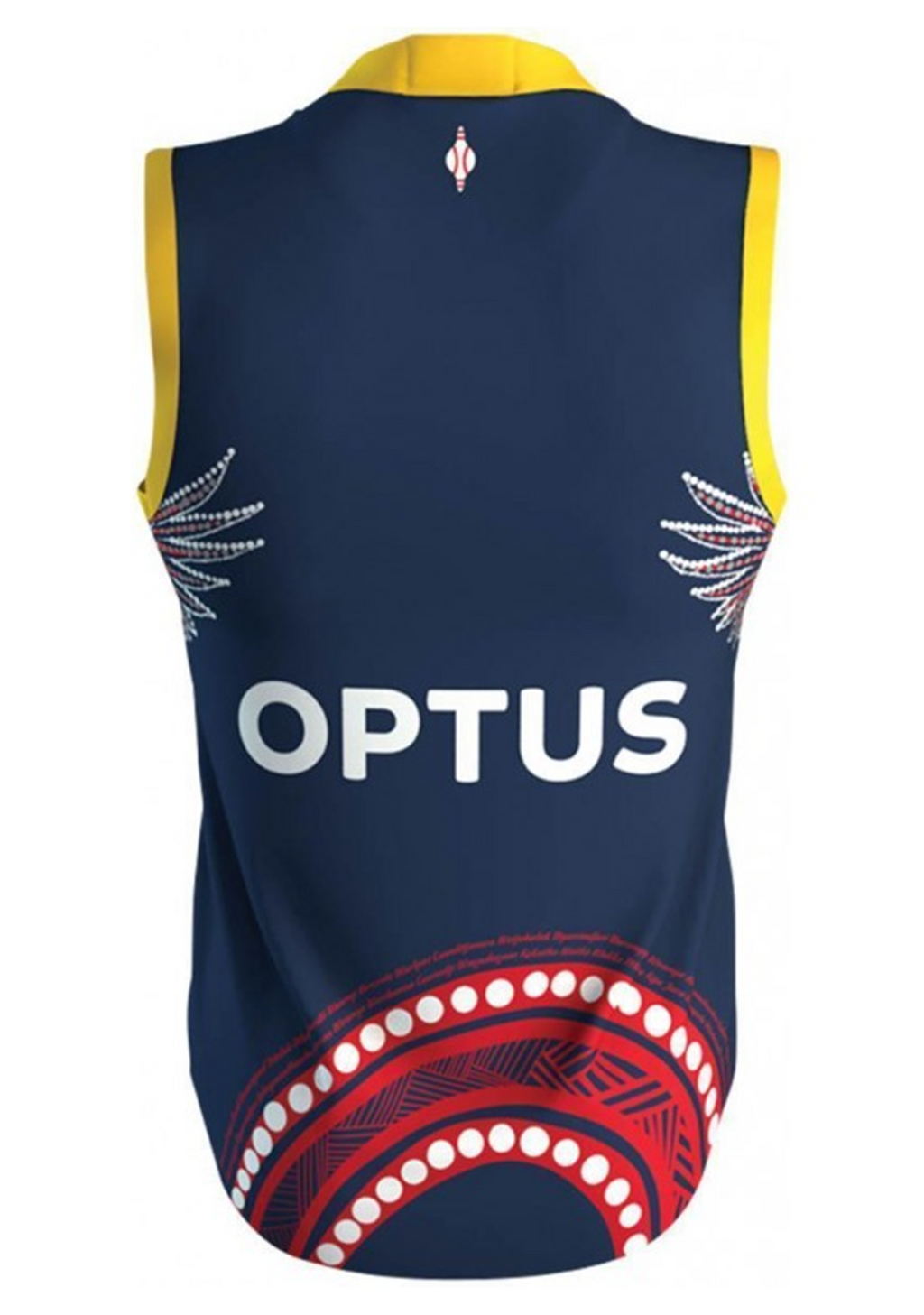ISC ADELAIDE CROWS 2020 MENS INDIGENOUS GUERNSEY <br> AC20JSY09M
