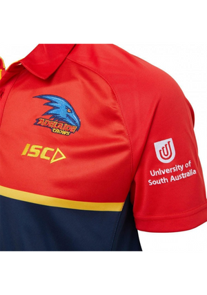 ISC ADELAIDE CROWS 2020 MENS PERFORMANCE SUBLIMATED POLO <br> AC20POL02M