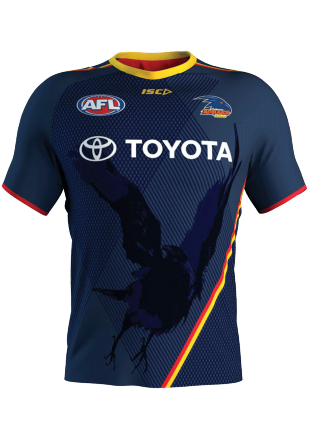 ISC ADELAIDE CROWS 2020 MENS RUN OUT TEE<br> AC20TSH03M