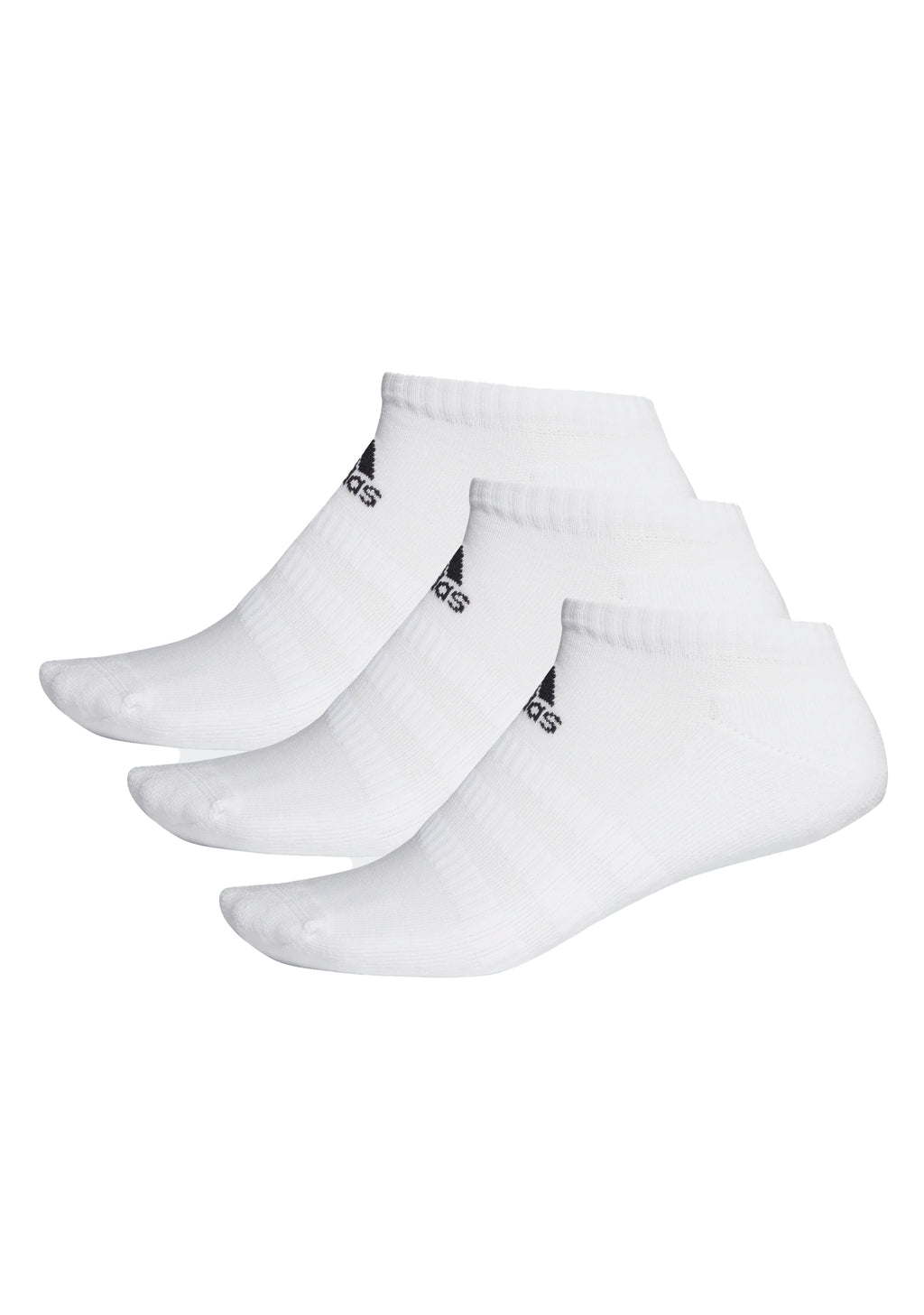 ADIDAS CUSHIONED LOW-CUT 3 PACK WHITE <br> DZ9384