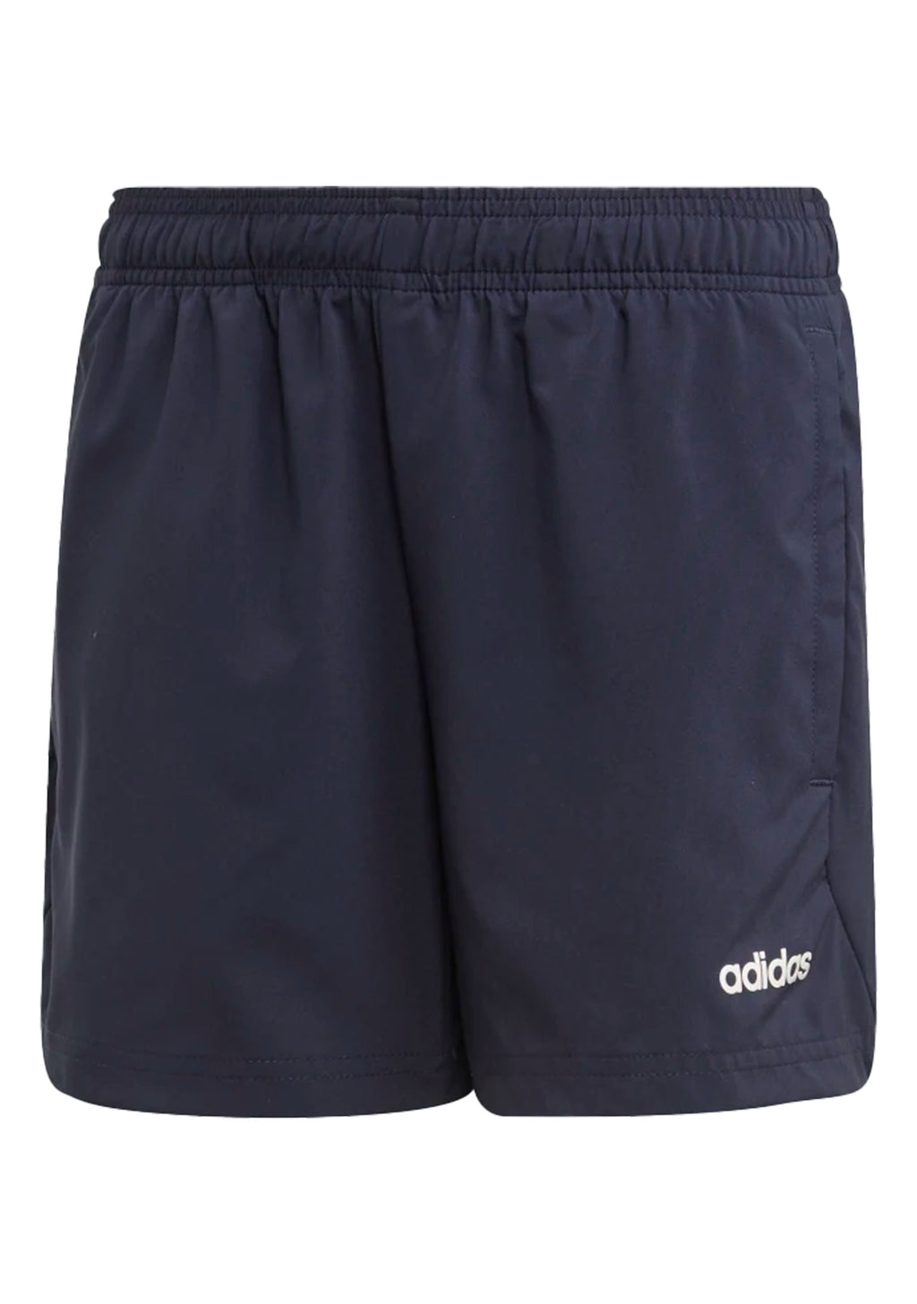 ADIDAS JUNIOR CLIMAHEAT PLAIN CHELSEA SHORTS NAVY <BR> EI7948