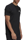 ADIDAS MENS AEROREADY PLAIN TEE <br> GM2090