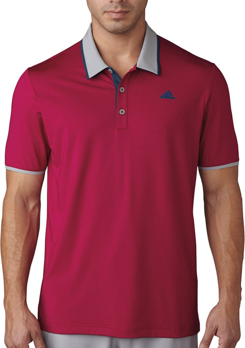 ADIDAS MENS CLIMACOOL PERFORMANCE POLO <BR> BC4033
