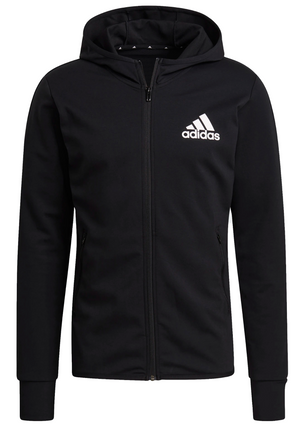 ADIDAS MENS DESIGNED TO MOVE MOTION FULL ZIP HOODIE <br> GM2080