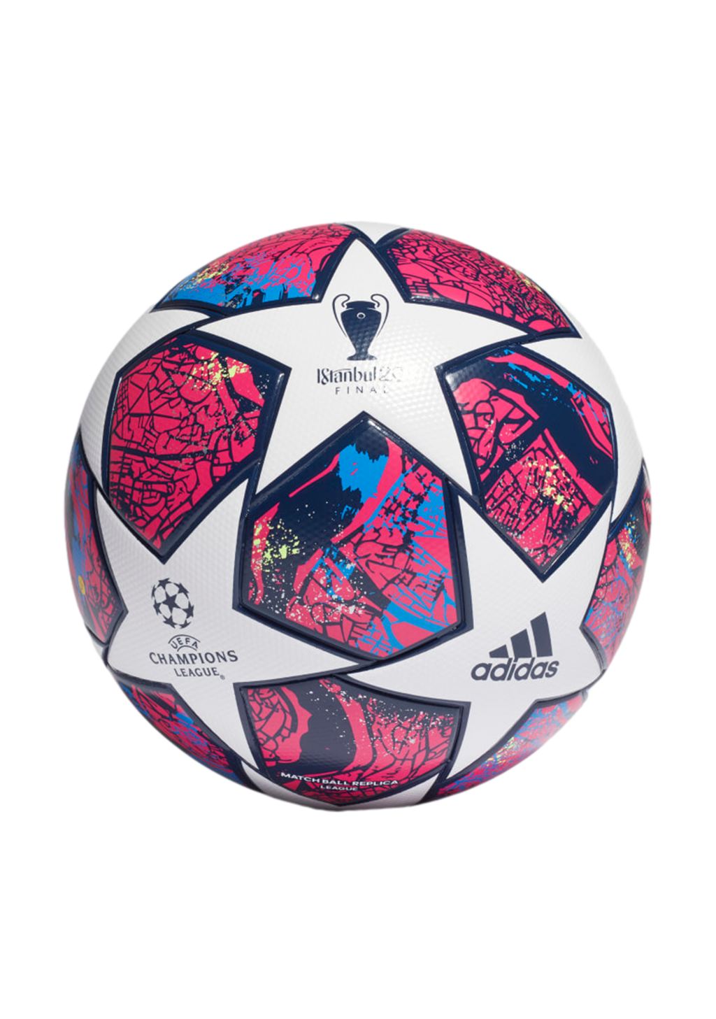 ADIDAS UCL FINALE INSTANBUL LEAGUE BALL <BR> FH7343 B34003