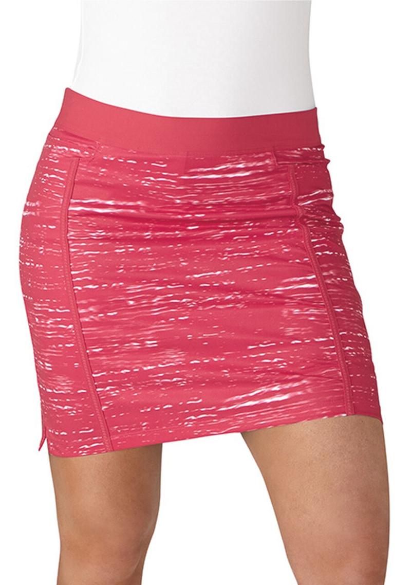 ADIDAS WOMENS ADISTAR PRINTED PULL ON SKORT <BR> BC7374